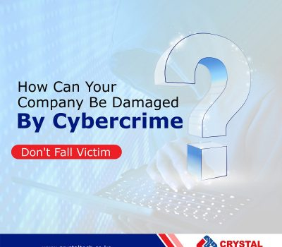 How can your company be damaged by cybercrime?